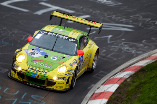 Porsche at the 2011 Nurburgring 24 hour race