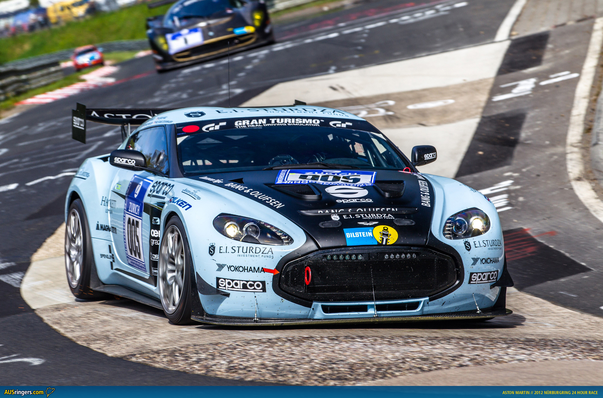 Aston Martin Vantage Race Car For Sale