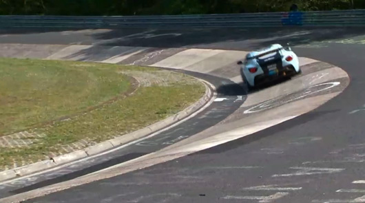 Aston Martin video highlights from 2012 Nurburgring 24 hour
