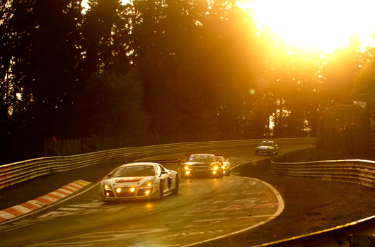 Audi at 2012 Nurburgring 24 hour race