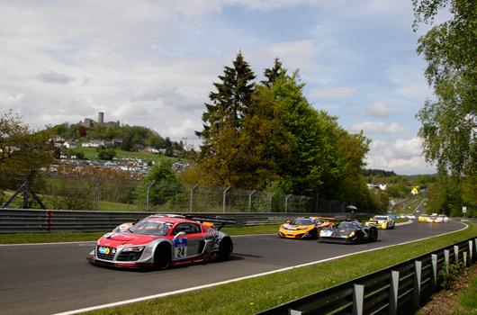 Audi at 2012 Nurburgring 24 hour race