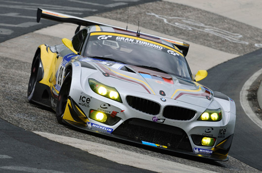 BMW at the 2012 Nurburgring 24 hour race