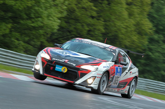 Toyota at the 2012 Nurburgring 24 hour race