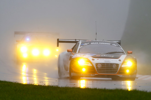 Audi at the 2013 Nurburgring 24 hour race