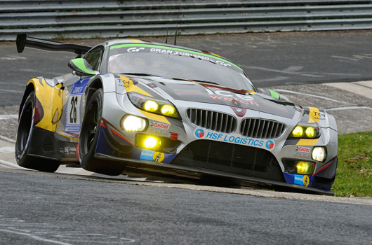 BMW at the 2013 Nurburgring 24 hour race