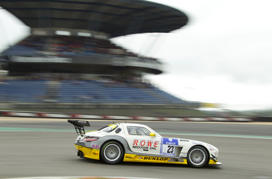 Mercedes-Benz at the 2013 Nurburgring 24 hour race