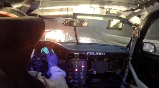 Martin Ragginger in the Falken Motorsports Porsche 911
