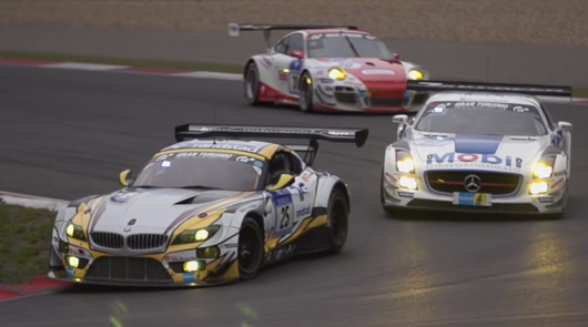 Team Marc VDS BMW Z4 GT3, 2015 Nurburgring 24 hour race