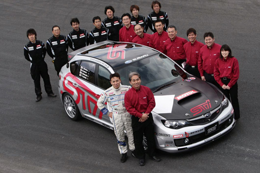 Subaru STi to race at Nurburgring 24 hour race