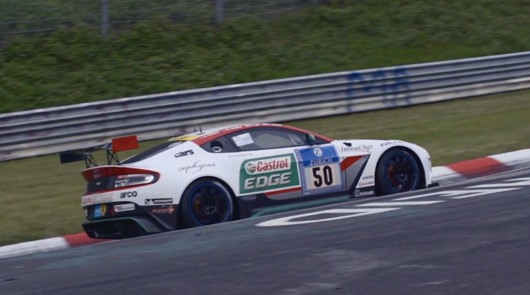 Chris Harris, Aston Martin GT12, 2015 Nurburgring 24 hour race