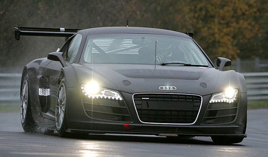 Audi R8 GT3 at the Nurburgring Nordschleife