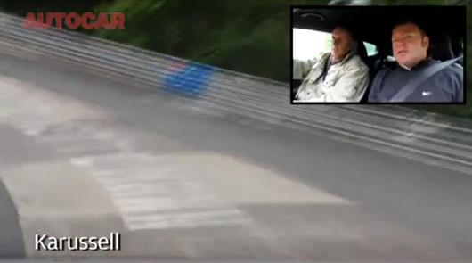 Hans Stuck at the Nurburgring