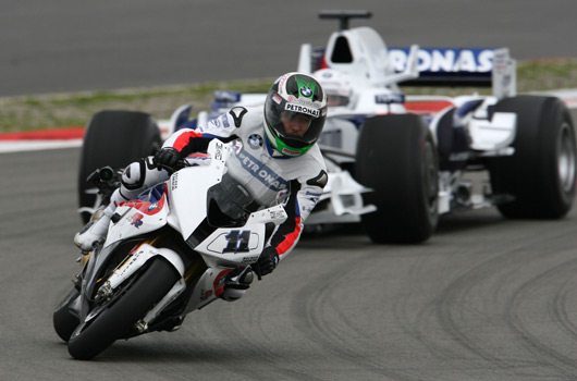 BMW F1 v Superbike - Nurburgring, July 2009