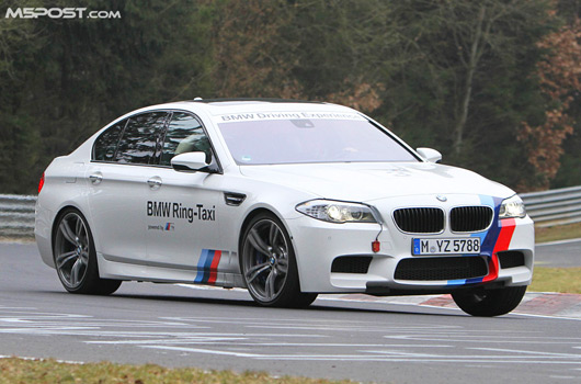 BMW F10 M5 Ring-Taxi