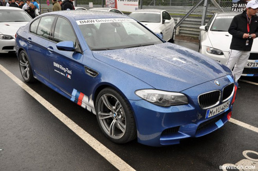 2012 BMW M5 Ring-Taxi