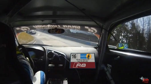 2015 N24h, Busch Motorsport Audi R8 LMS