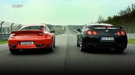 D:SF - Nissan GT-R v Porsche 911 Turbo