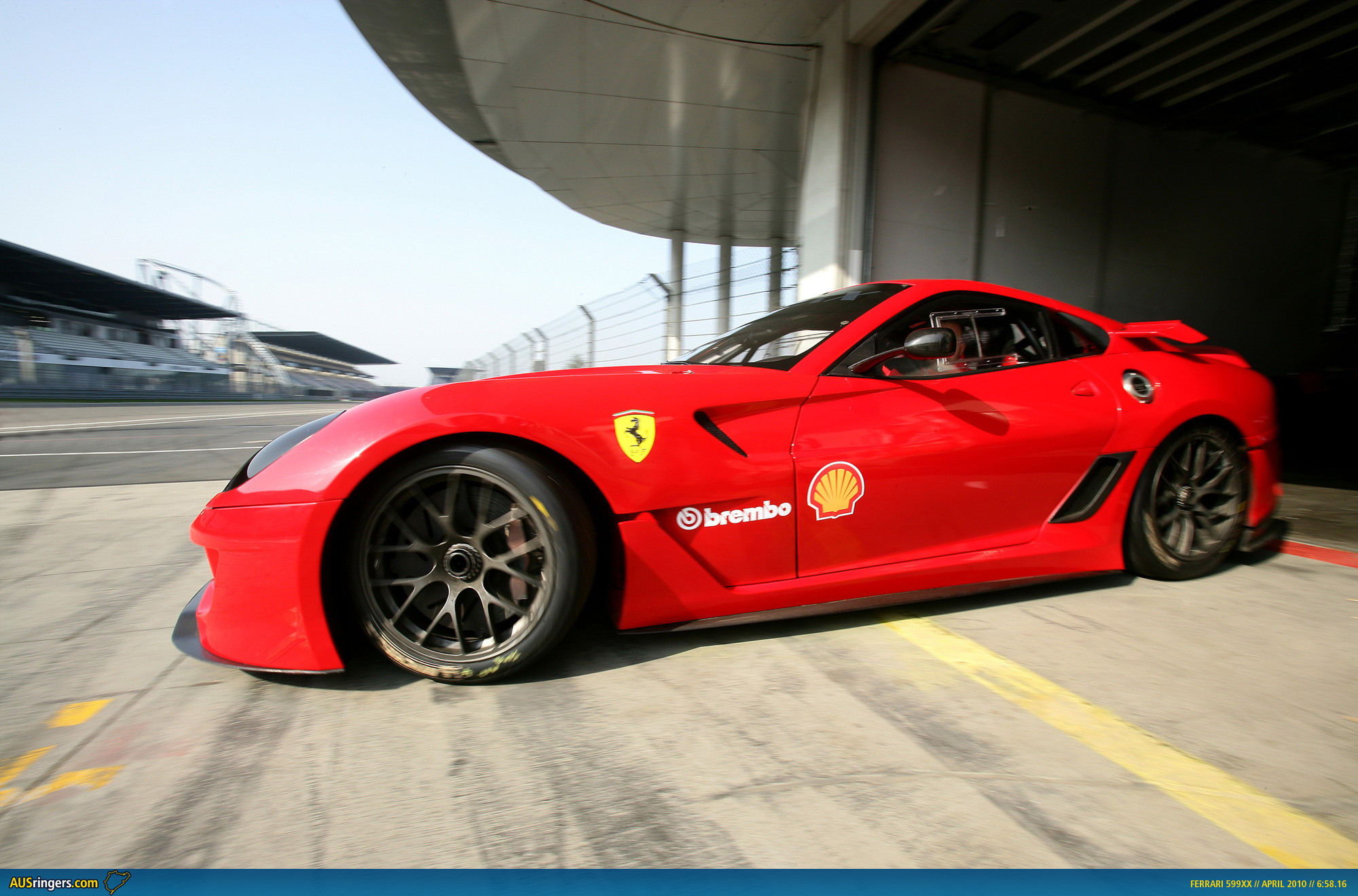 Ausmotive ferrari 599xx sets new nrburgring nordschleife record ferrari 599xx 65816 vanachro Gallery