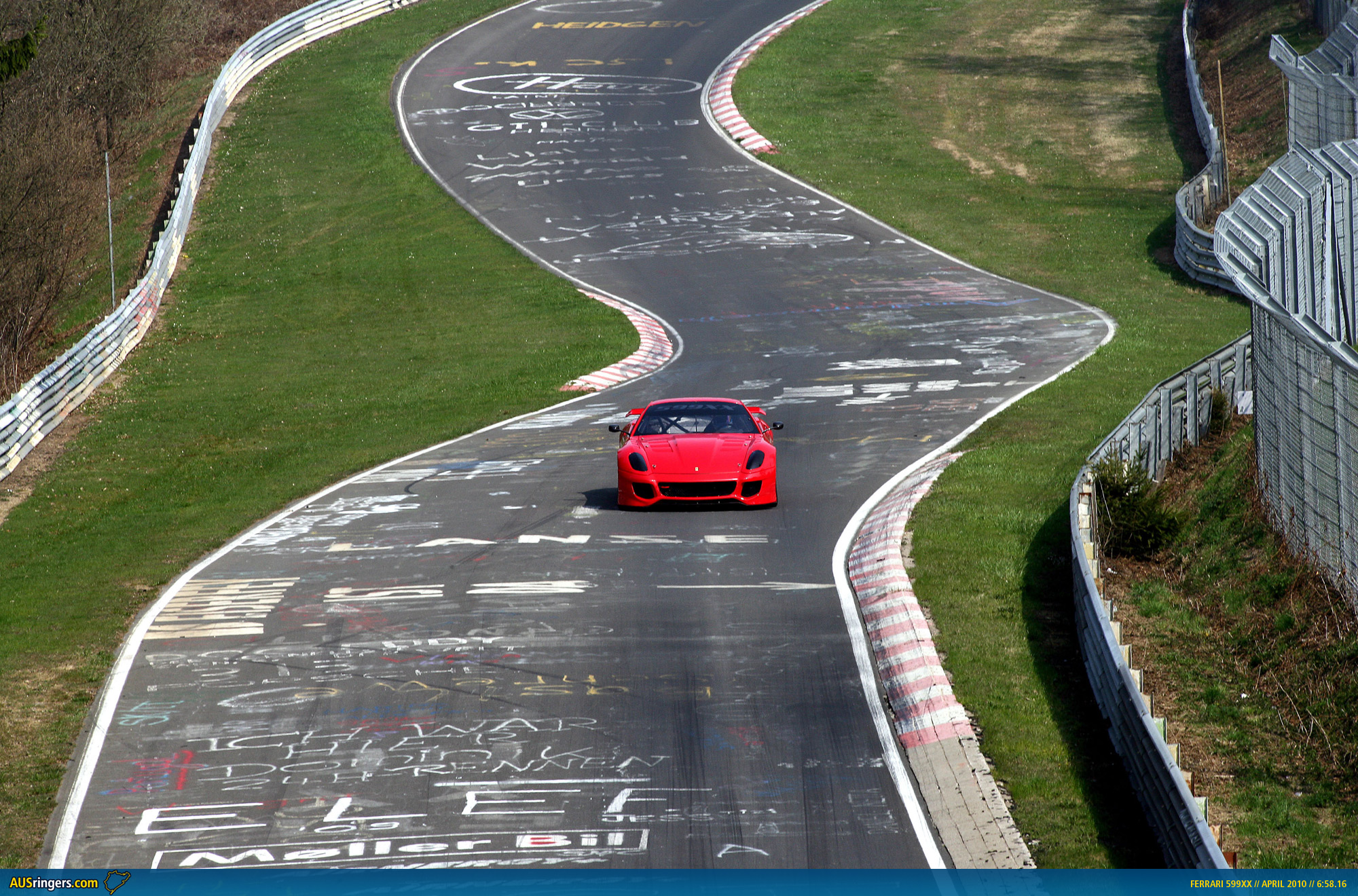 ferrari 599xx sets new n rburgring nordschleife record. Black Bedroom Furniture Sets. Home Design Ideas