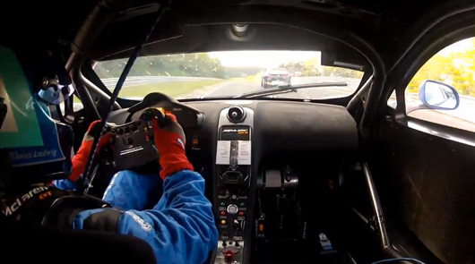 Klaus Ludwig crashes out of 2012 Nurburgring 24 hour race