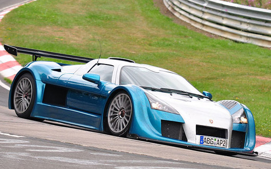 Gumpert Apollo Speed Ring record
