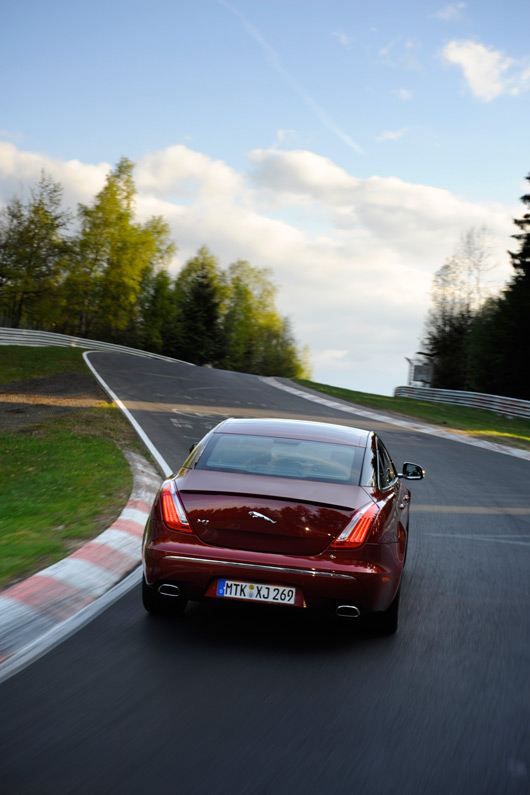 Jaguar XJ at the Nurburgring