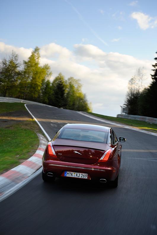 Jaguar XJ at the Nurburgring