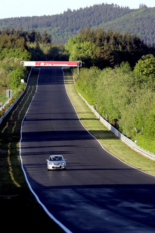 Mazda3 MPS at the Nurburgring