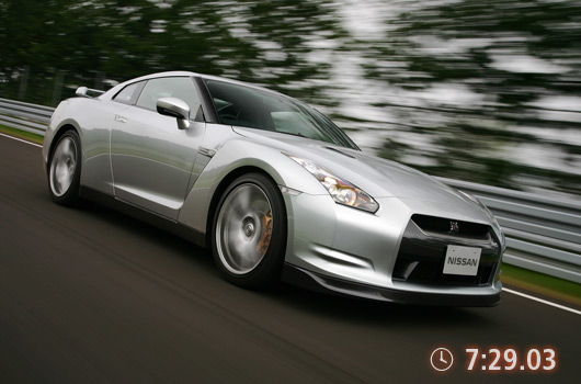 Nissan GT-R laps Nurburgring in 7 minutes 29 seconds