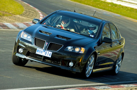 Pontiac G8 GXP at the Nurburgring Nordschleife