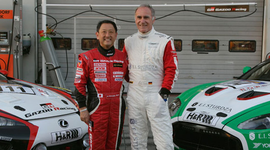 VLN race Aston Martin & Toyota swap