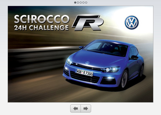 VW Scirocco R iPhone game