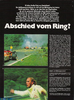 Niki Lauda article
