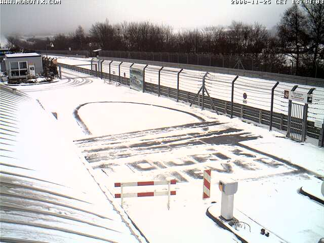 Snow at the TF gates